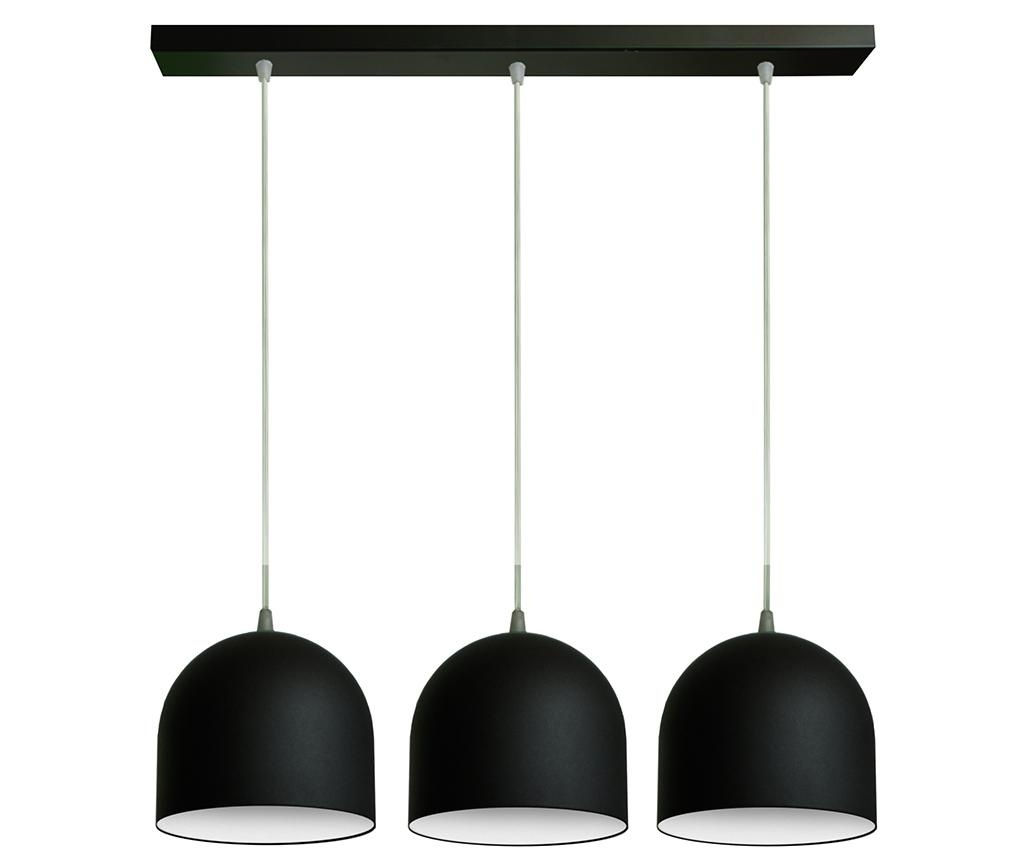 Lampa sufitowa Madison Wide Three Black White