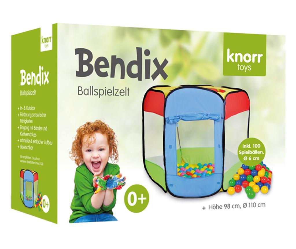 Igralni šotor in 100 žogic Bendix