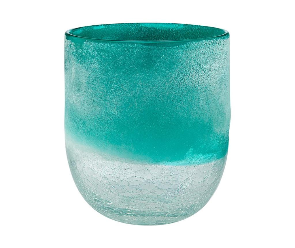 Lahara Turquoise Váza S