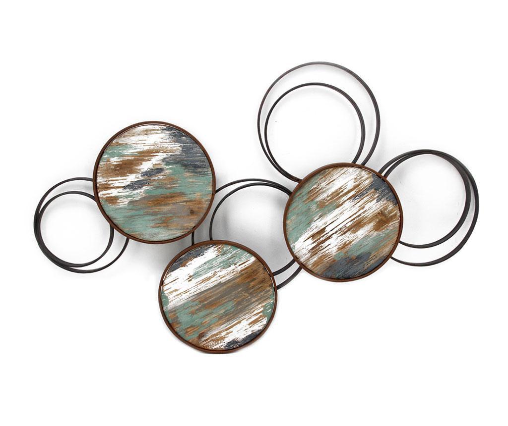 Decoratiune de perete Beaux Arts Metallic Circles
