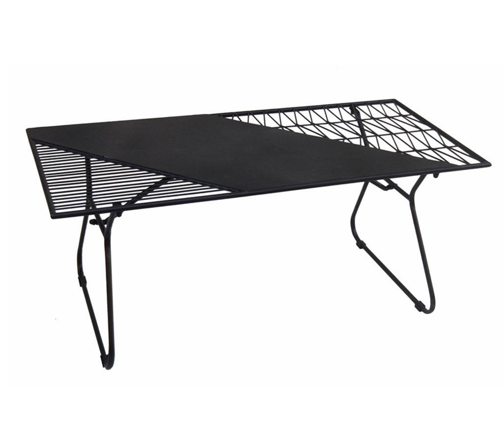 Stolić za kavu za vanjski prostor Art de Fer Black