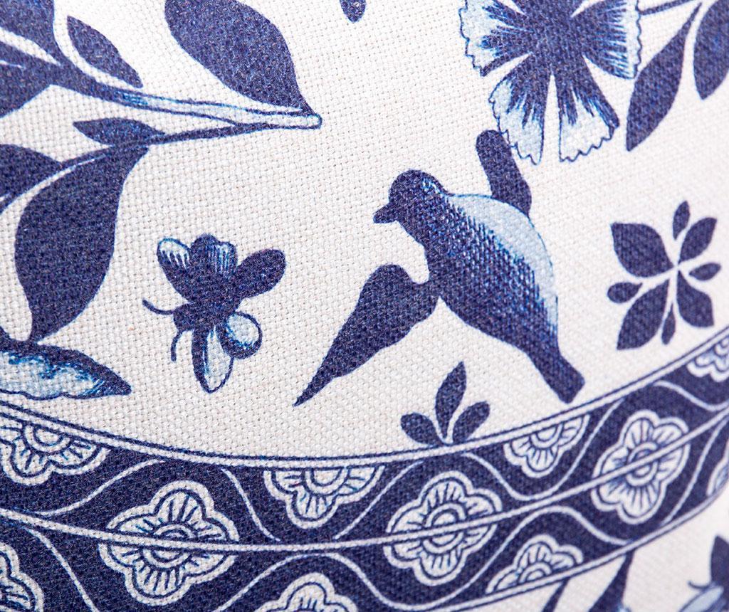 Audrina White and Blue Díszpárna 45x45 cm