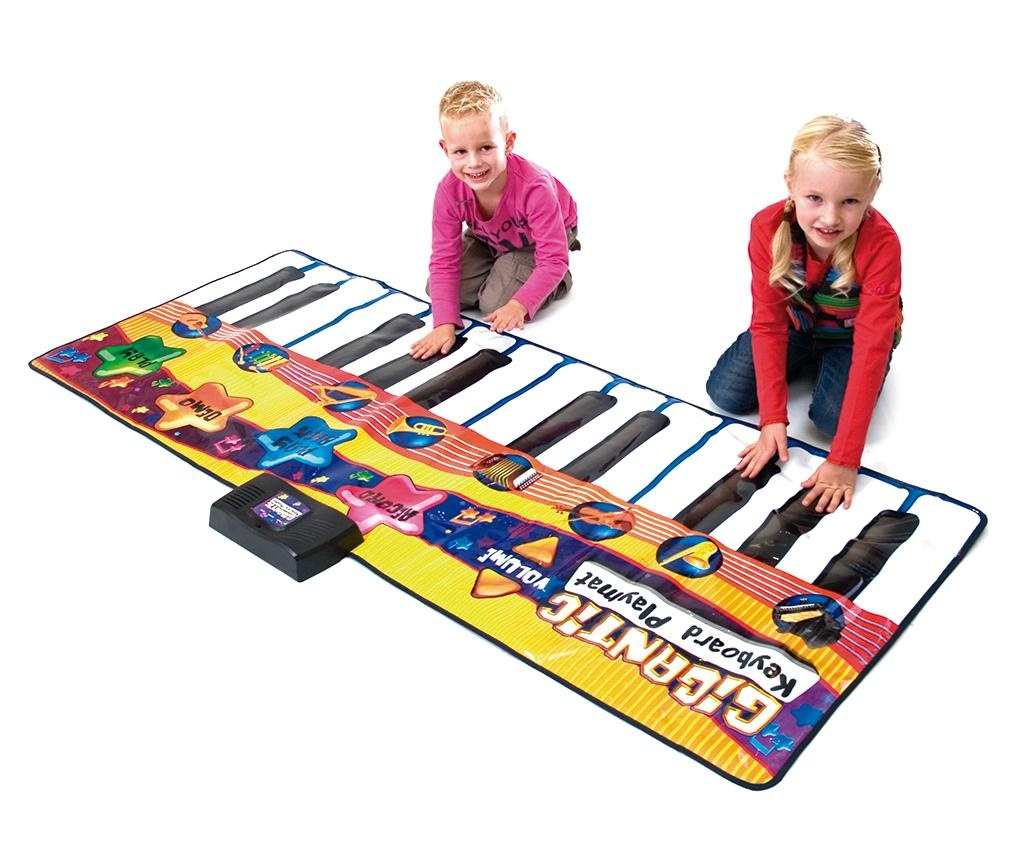 Musical Keyboard Doug Zenélőszőnyeg tevékenységekkel