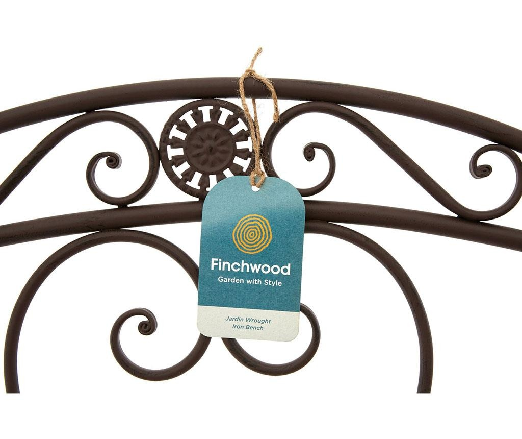 Klupa za vanjski prostor Finchwood Brown