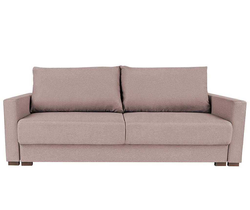 Canapea extensibila 3 locuri Giovanni Pink