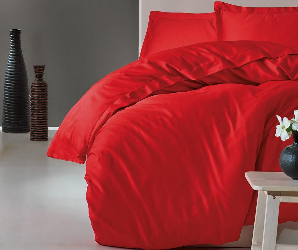Lenjerie de pat King Satin  Supreme Elegant Red