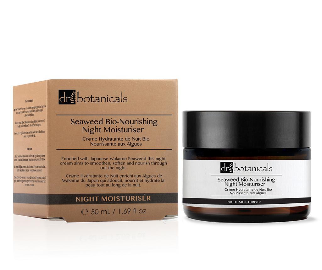 Nočna krema za obraz proti staranju kože Seaweed Nourishing 50 ml