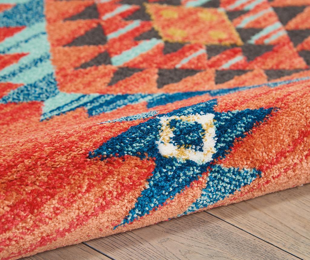 Navajo Seven Red Runner Szőnyeg 66x130 cm