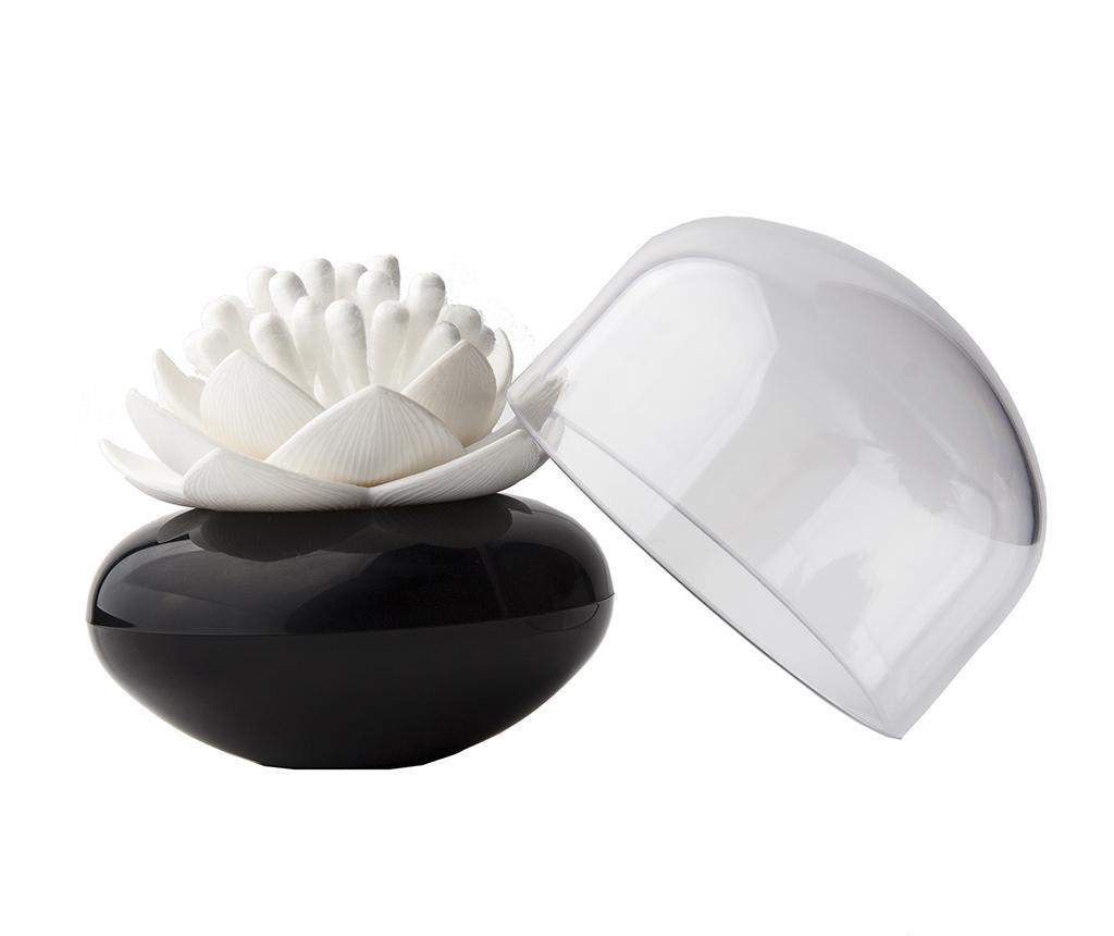 Lotus Black White Fültisztító pálcika tartó