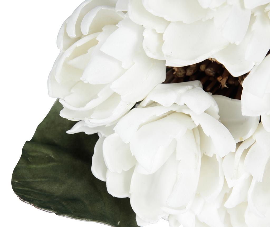 Buchet flori artificiale Bota White