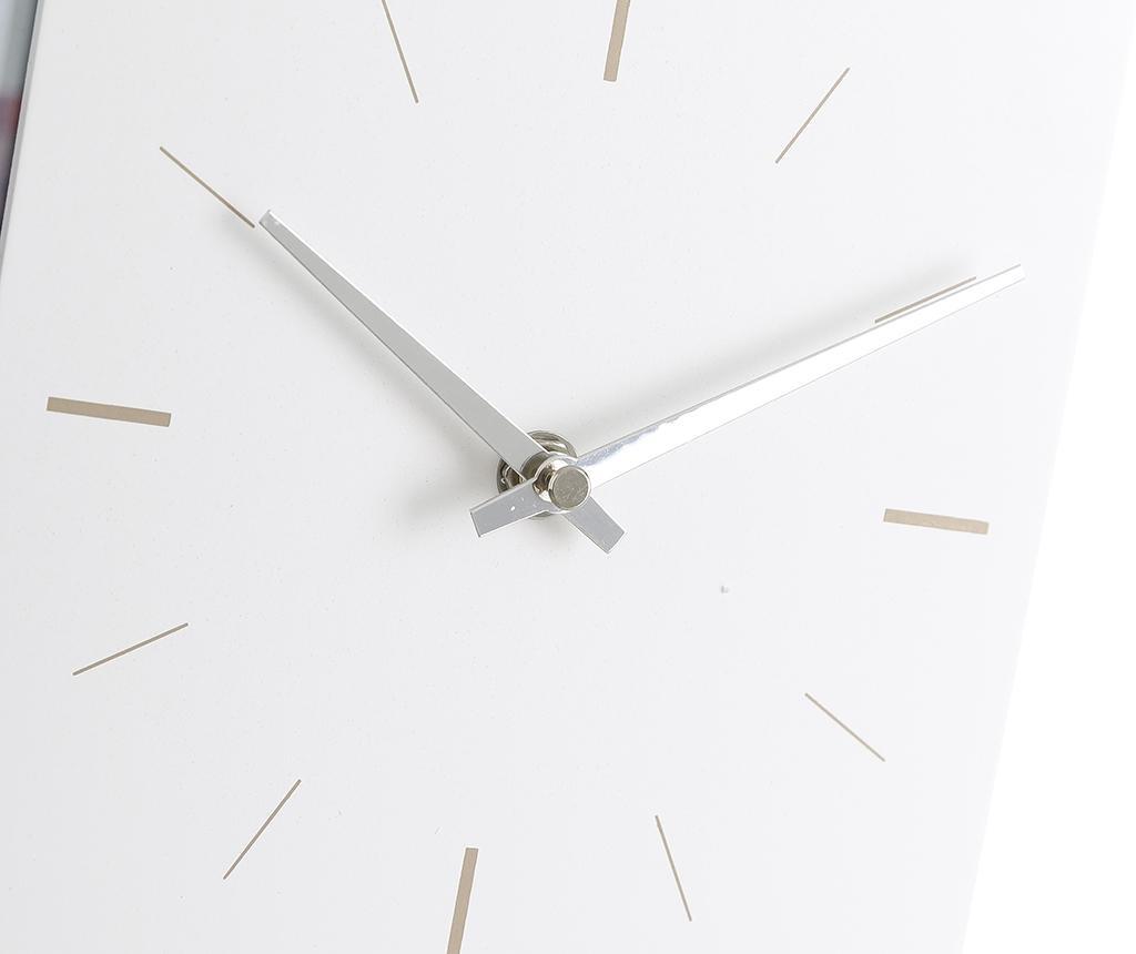 Stenska ura s 3 foto okvirji Hodges White