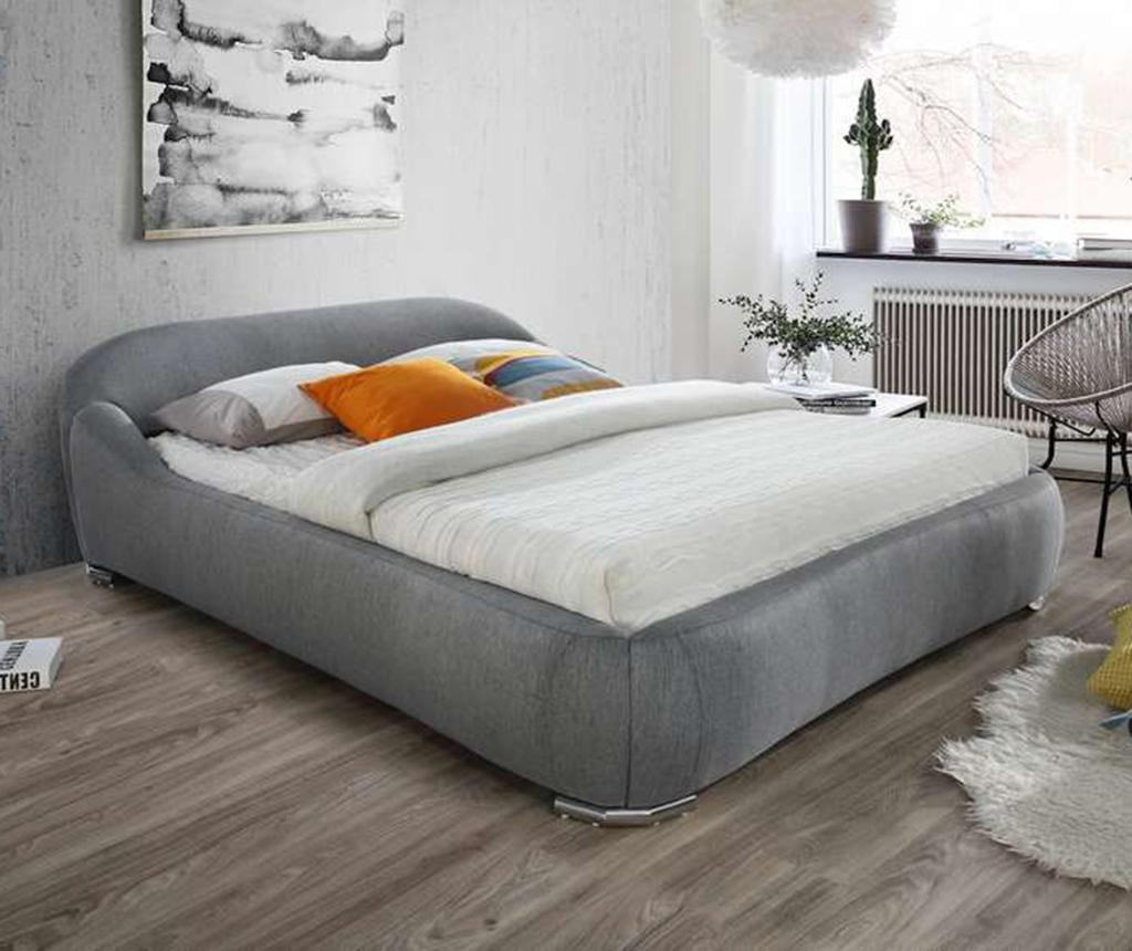 Krevet Verena Fabric Grey 160x200 cm