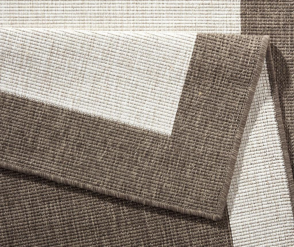 Zunanja preproga Twin Panama Brown Cream 80x350 cm