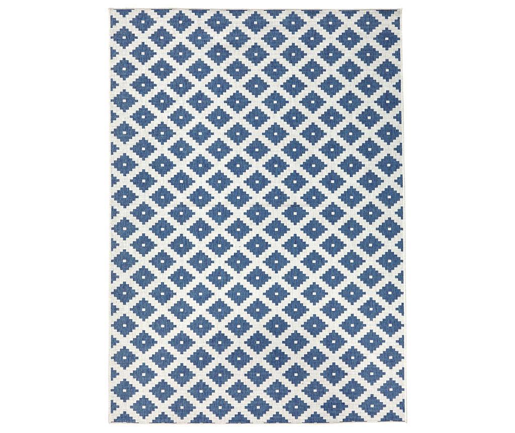 Zunanja preproga Nizza Blue Cream 160x230 cm