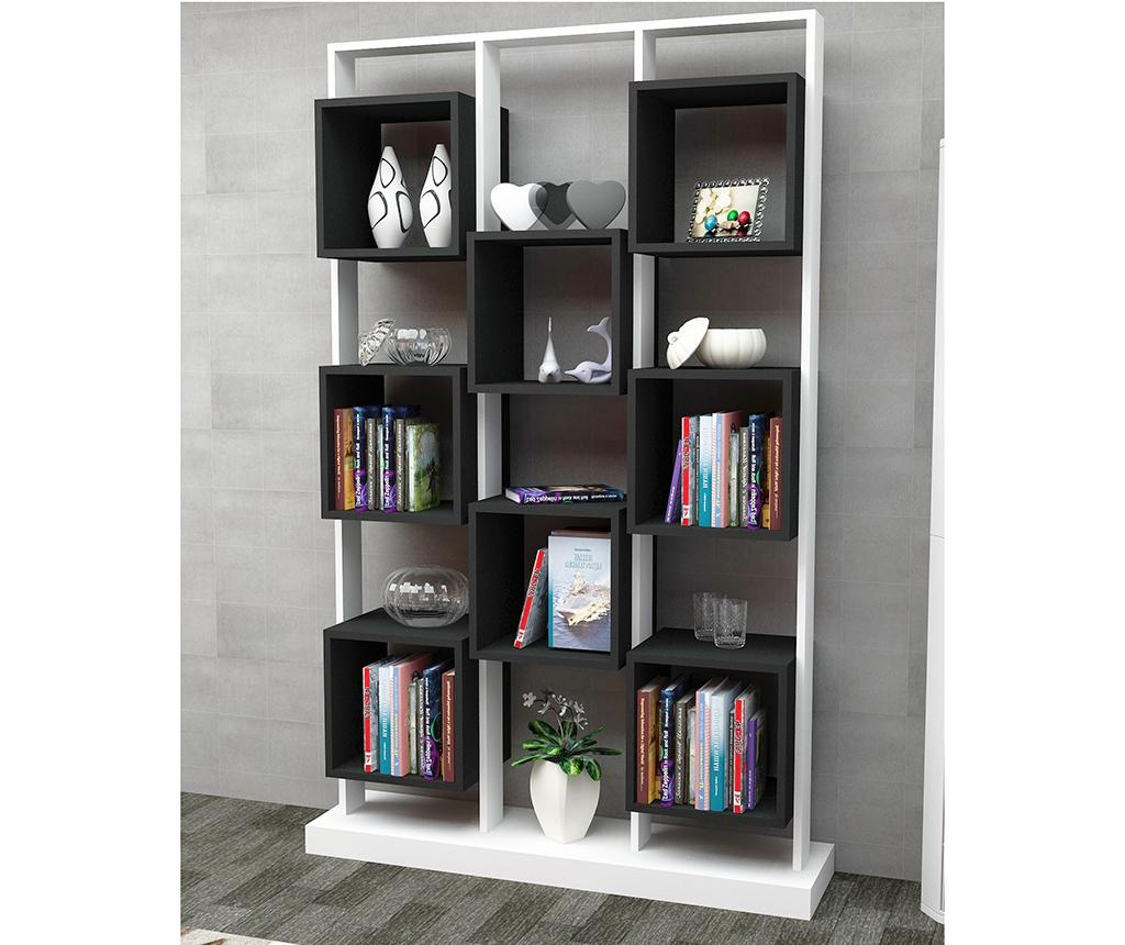 Biblioteca Edge White Black