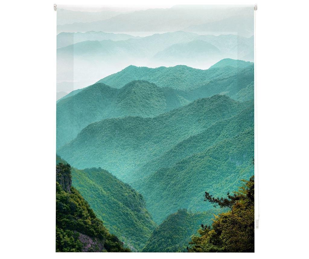 Jaluzea tip rulou Mountain Path 180x180 cm