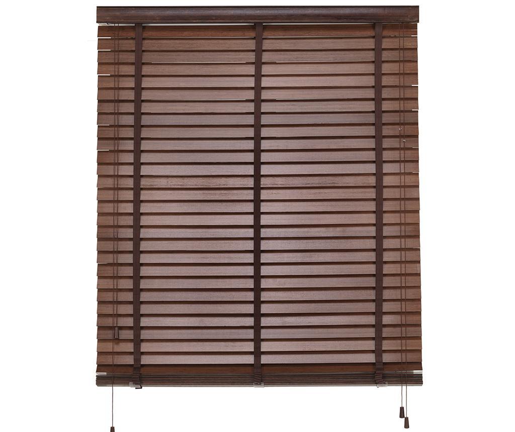 Jaluzea Bamboo Venetian Brown 140x180 cm