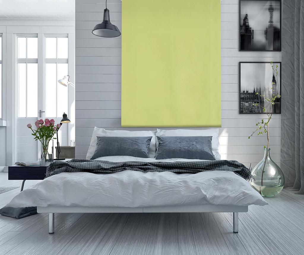 Jaluzea tip rulou Blackout Pistachio 120x175 cm