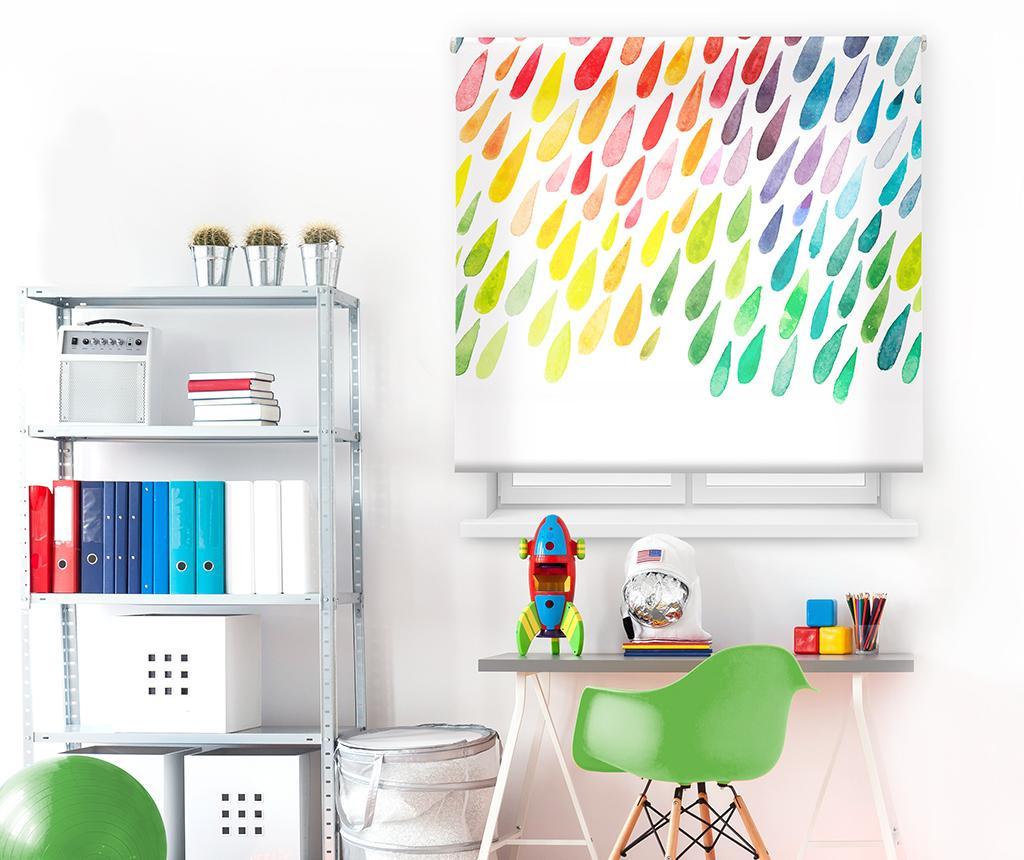 Colorful Drops Roletta 140x180 cm