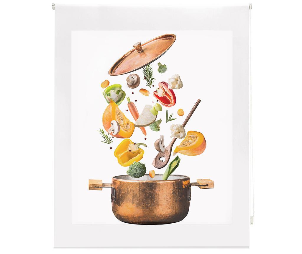 Rolo zavesa Sliced Vegetables 100x250 cm