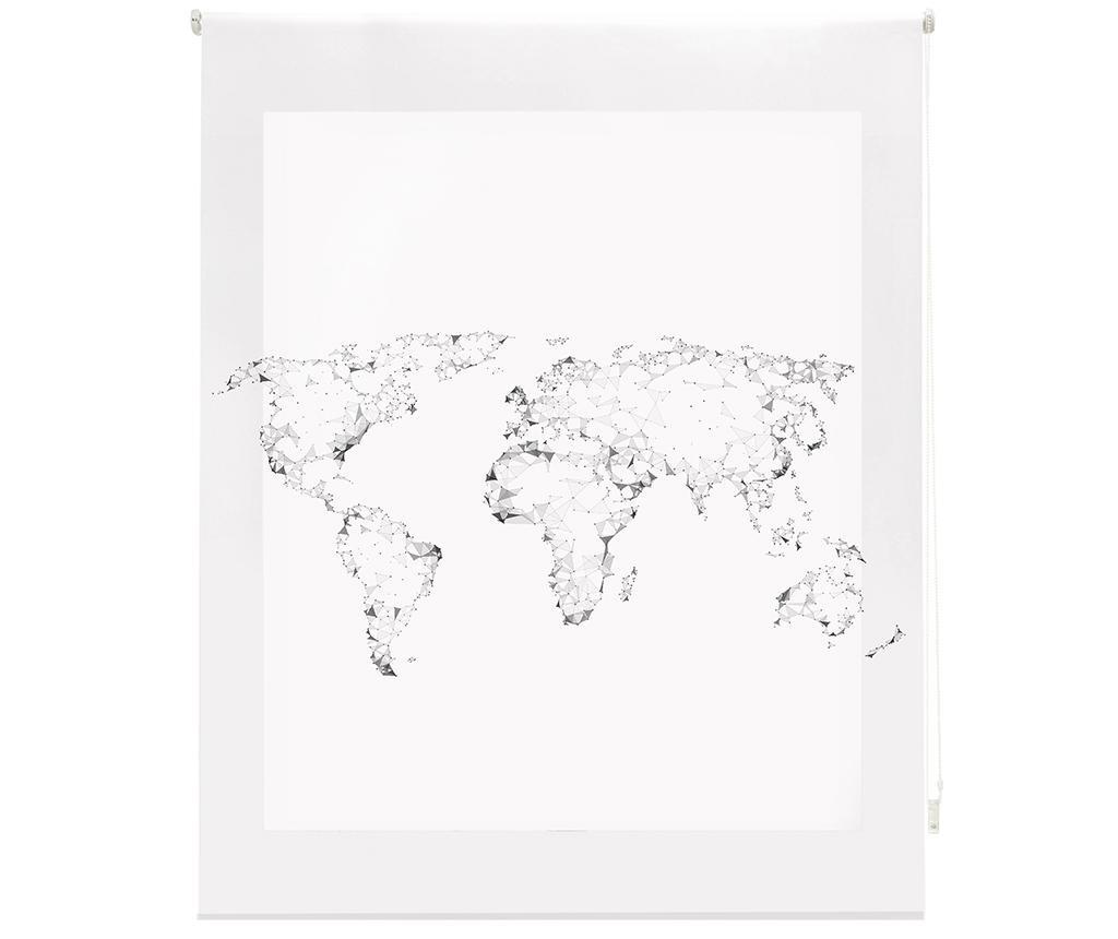 World Map Roletta 140x250 cm