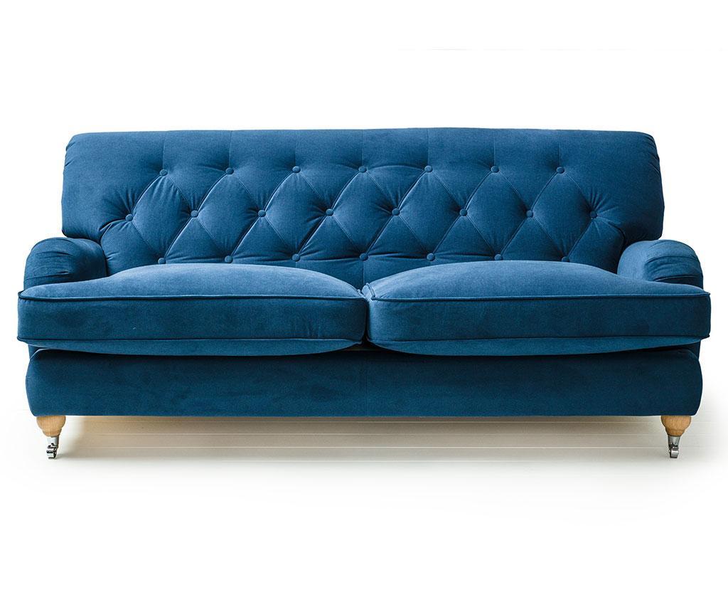 Silva Deep Blue Háromszemélyes kanapé