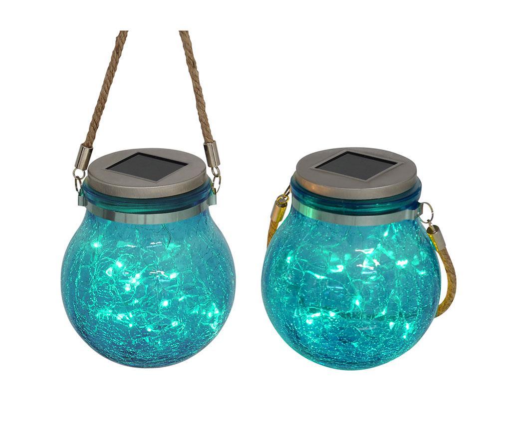 Frozen Aqua 2 db Napelemes lámpa