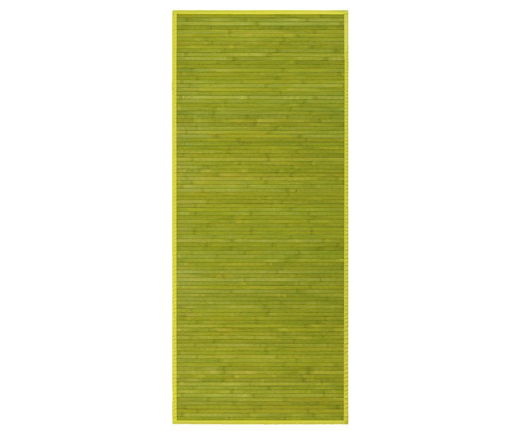 Covor tip pres Mimosa Green 75x175 cm