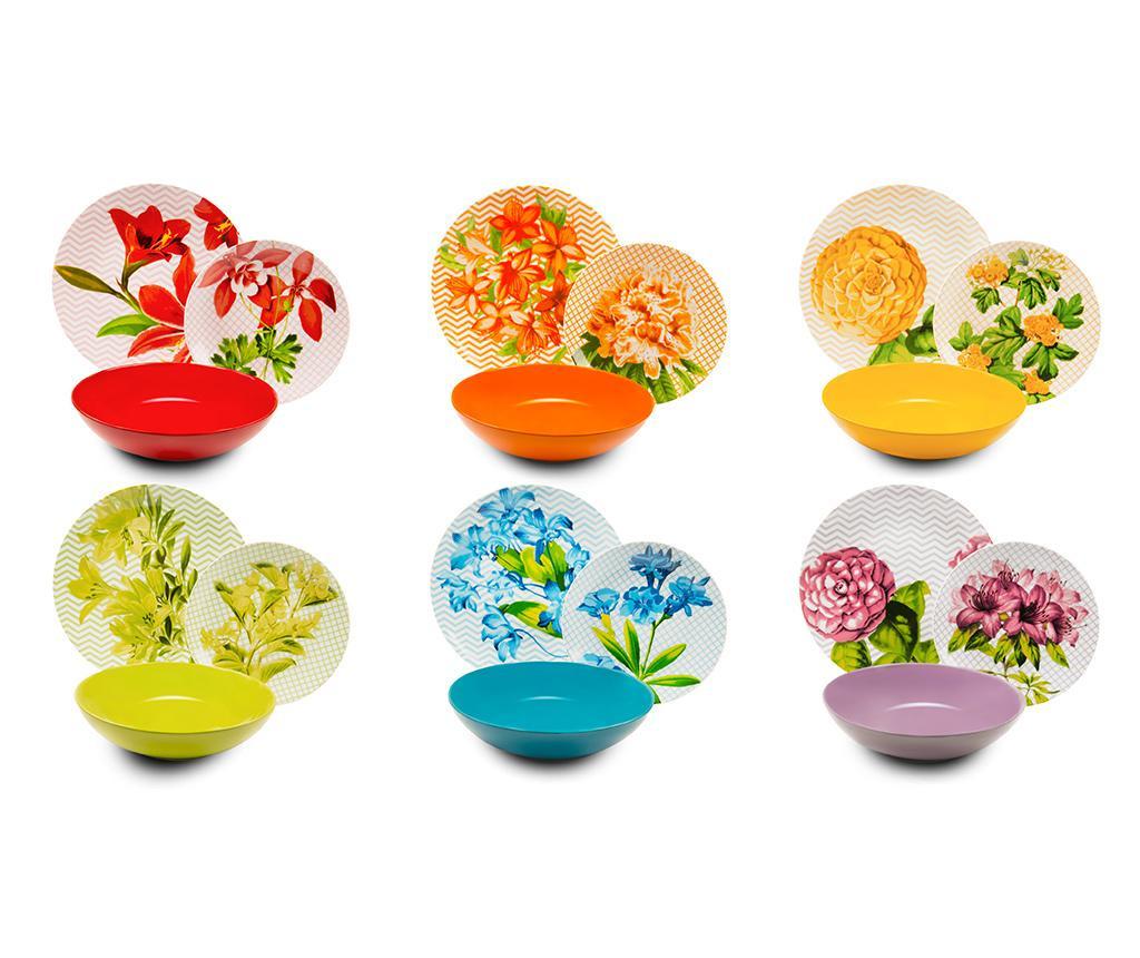 Set de masa 18 piese Floral