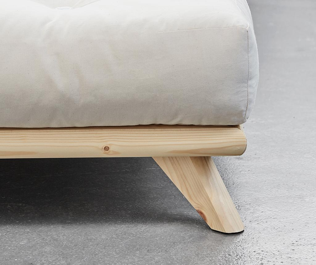 Легло Senza Natural Bege 180x200 см