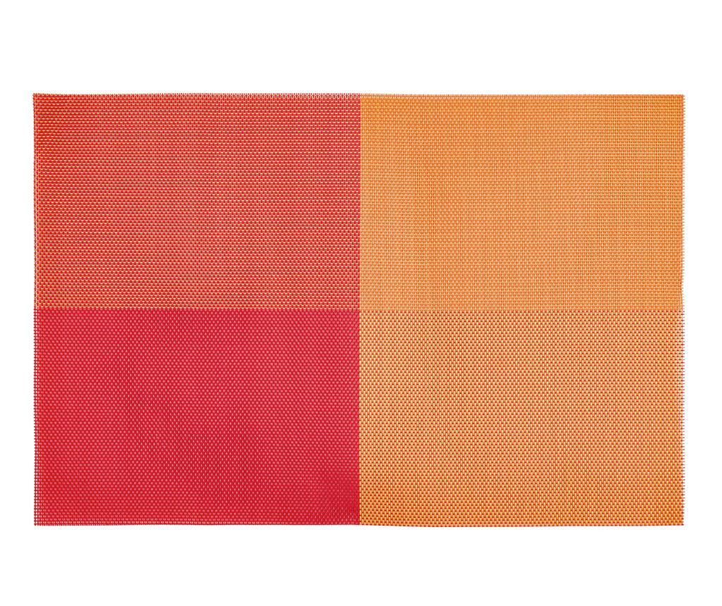 Podmetač Happy Meal Squares Orange 30x45 cm