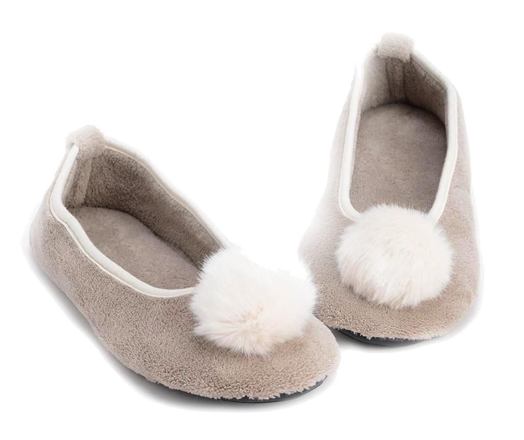 Dámské domácí papuče Sleep Taupe 39-40