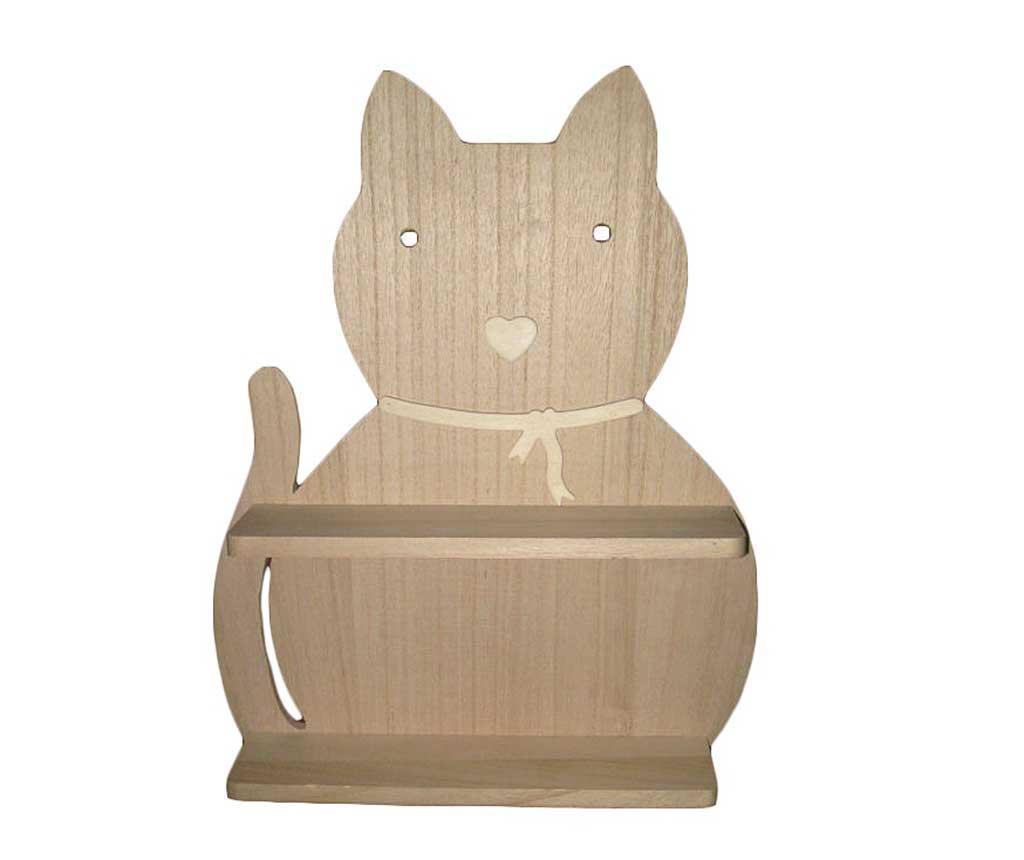 Zidni regal s policama Piani Cat