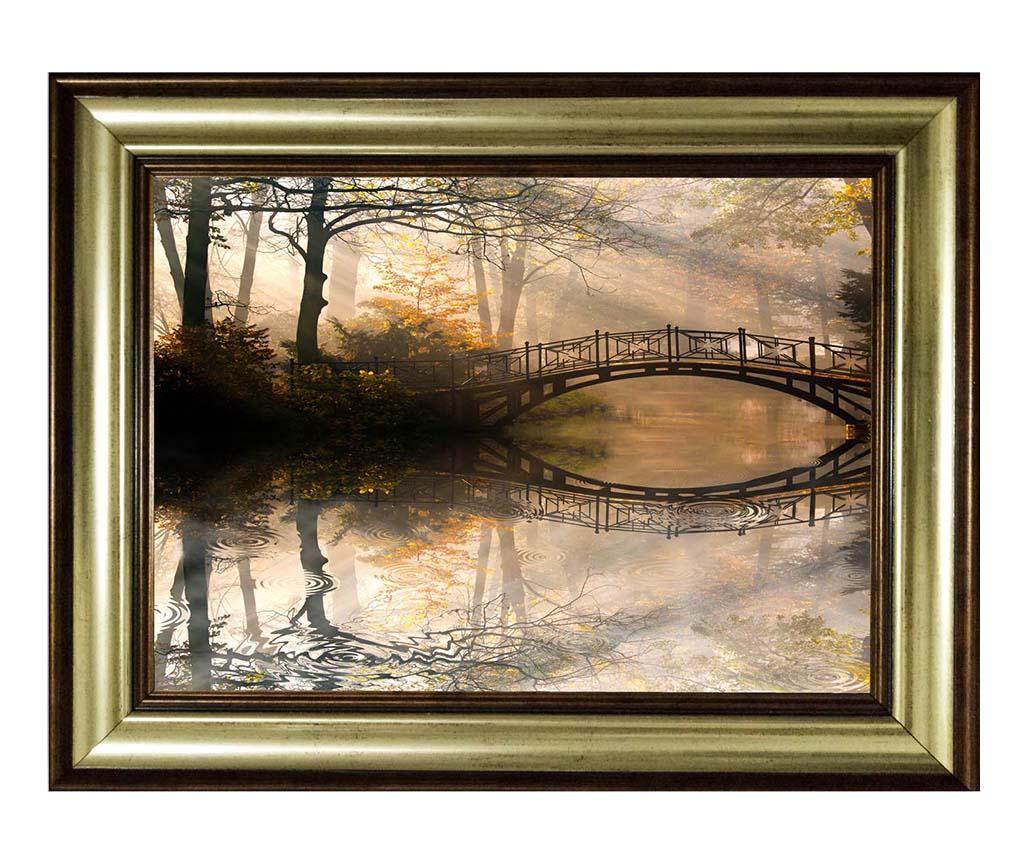 Fall Bridge Kép 80x110 cm