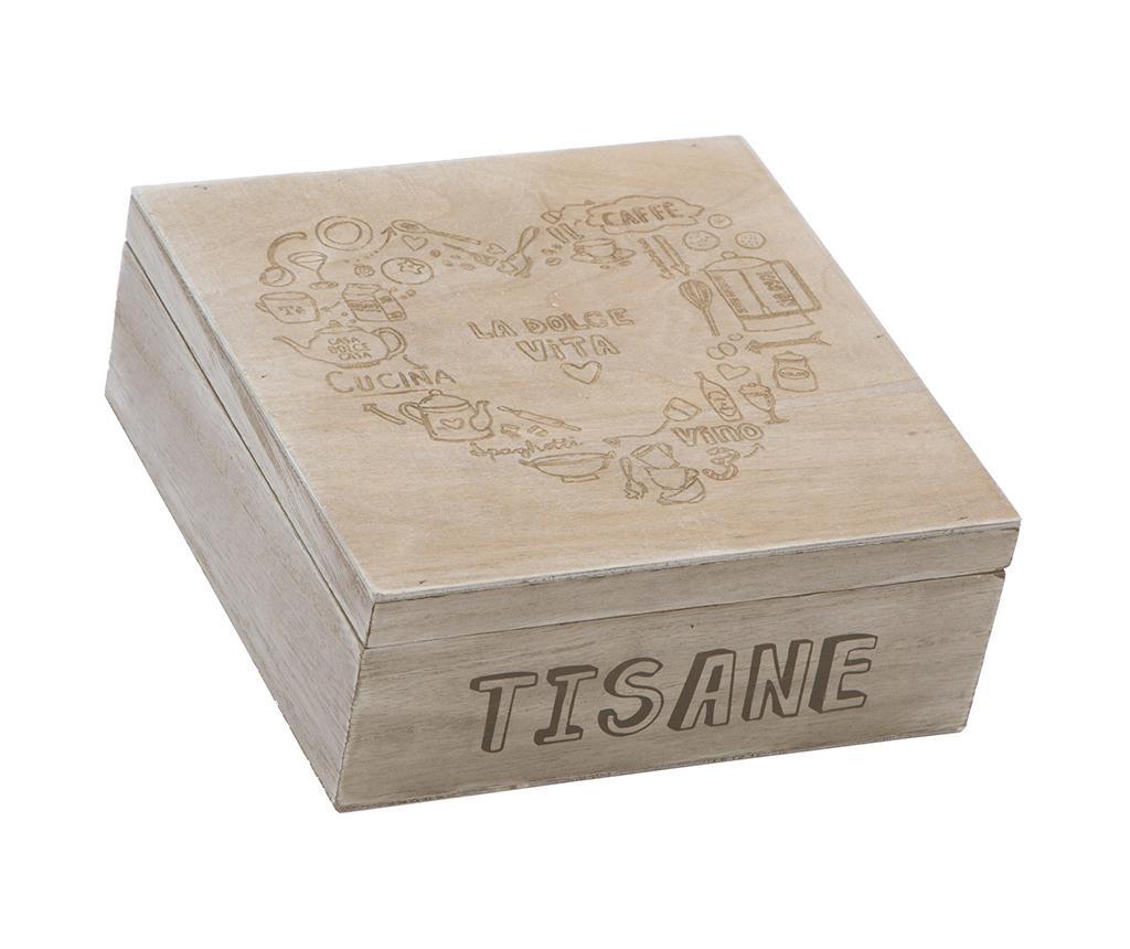 Cutie pentru ceai Tisana