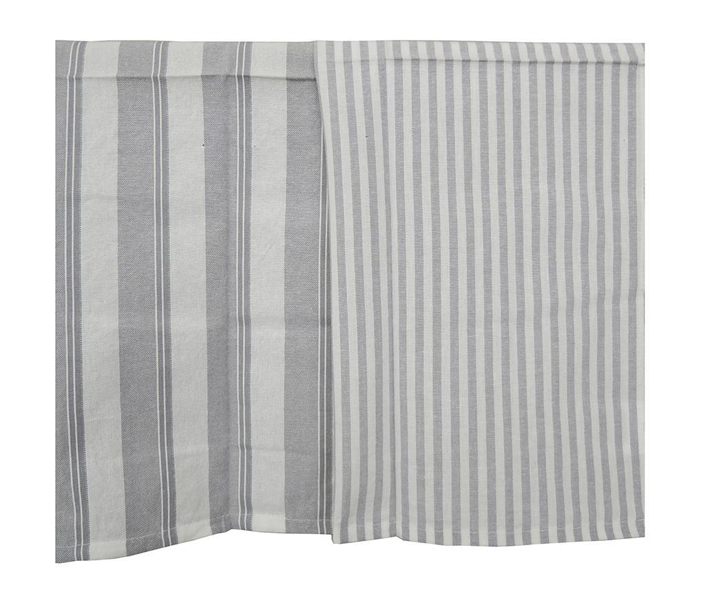 Set 2 prosoape de bucatarie Sinead Stripes 50x70 cm