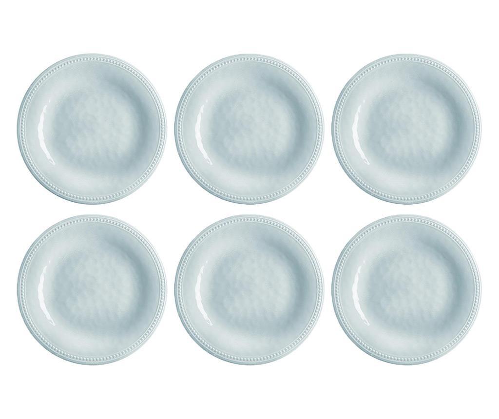 Set 6 farfurii pentru desert Harmony Silver