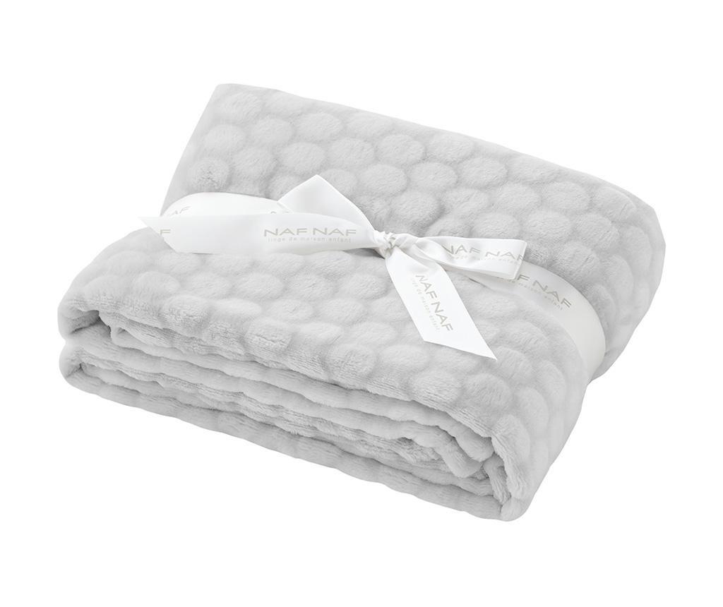 Pokrivač Liso Grey 80x110 cm
