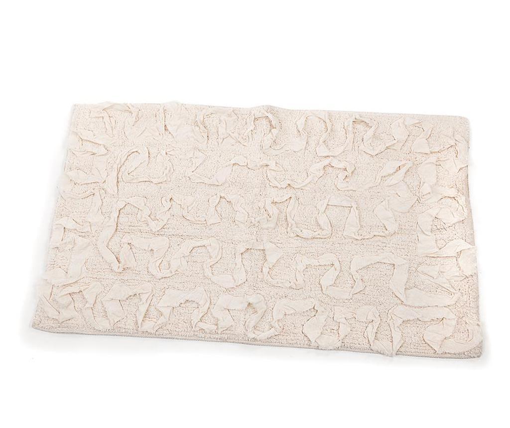 Covoras de baie Sahara Ivory 50x80 cm