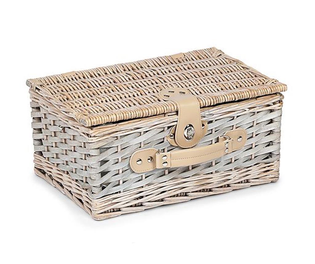 Cos echipat pentru picnic 2 persoane Ines
