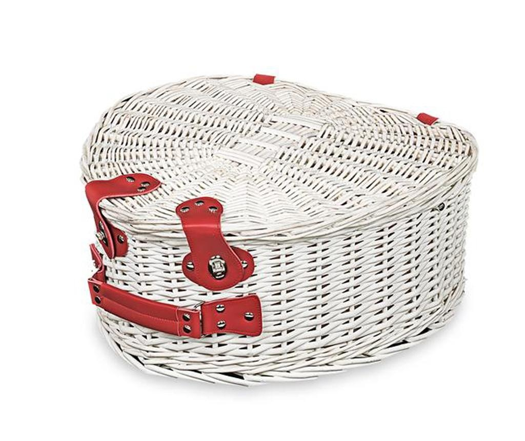 Оборудвана кошница за пикник за двама Heart