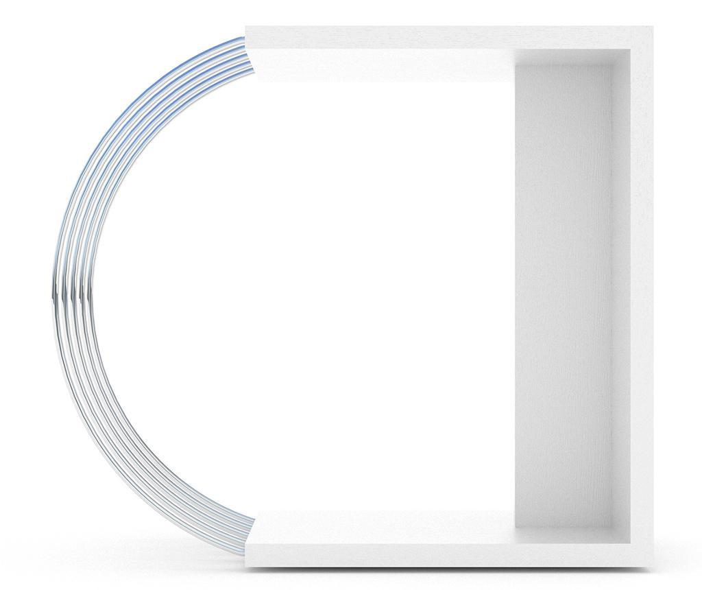 Masuta Case White Chrome