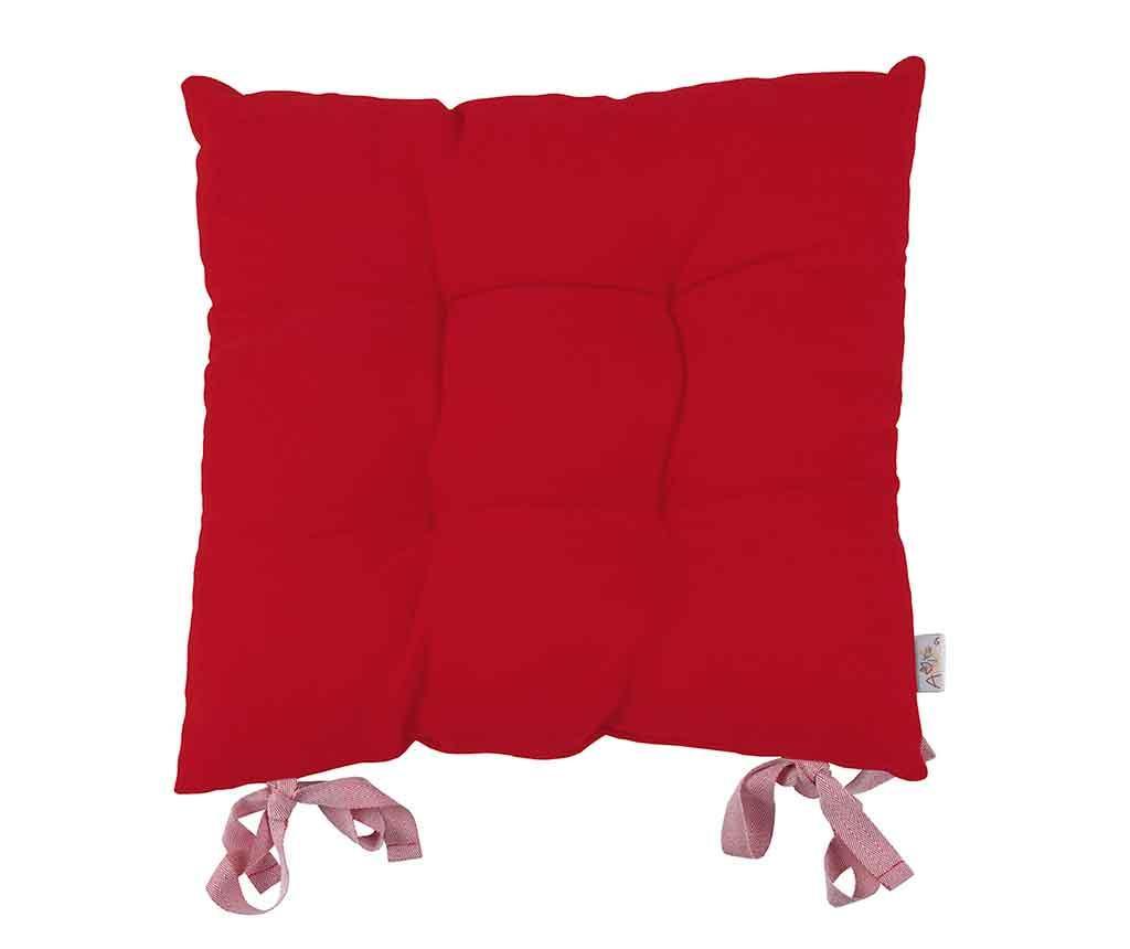 Sedežna blazina Poppy Classic Red 43x43 cm