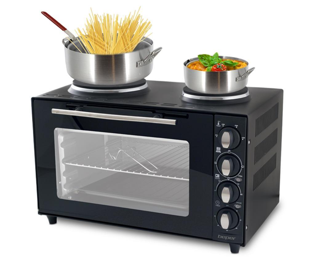 Električna pećnica s dvostrukom pločom za kuhanje Cameo 36 L