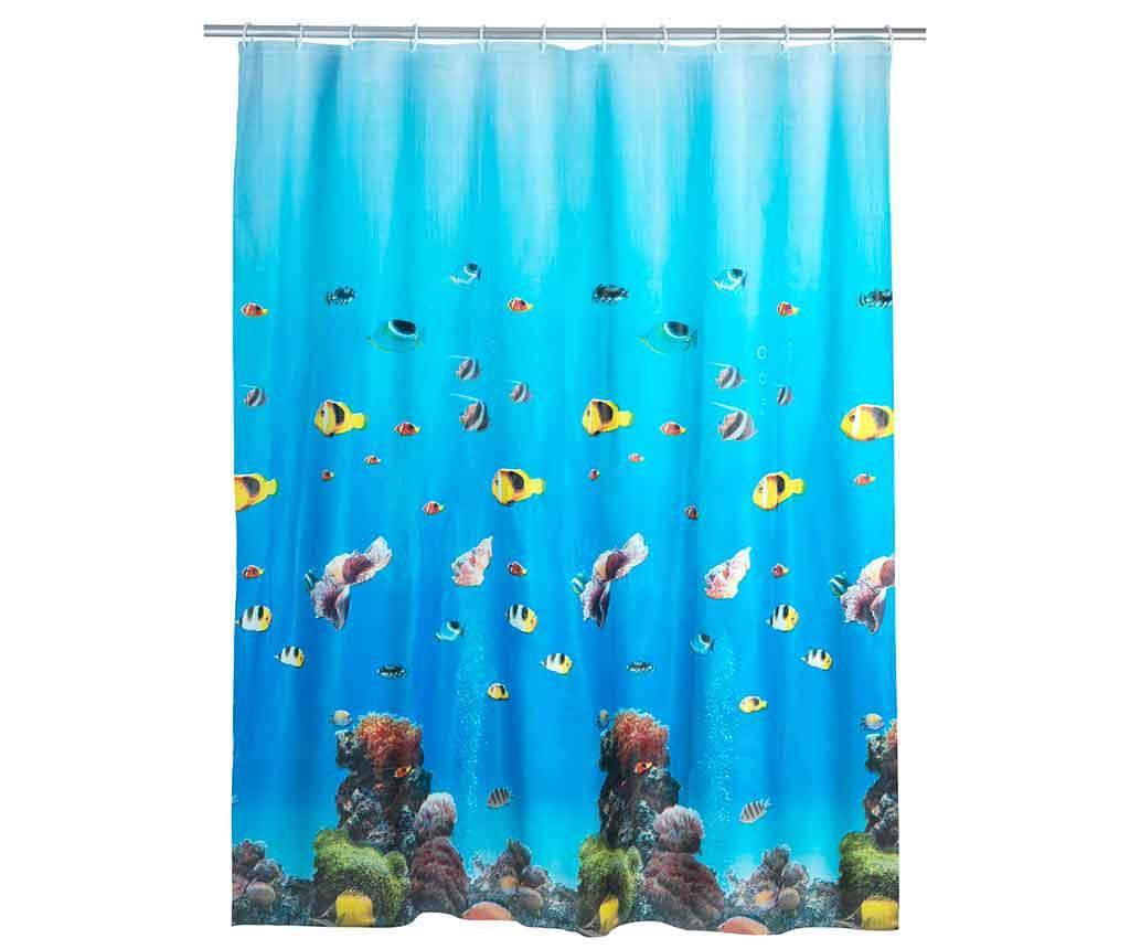 Sprchový závěs Ocean 180x200 cm
