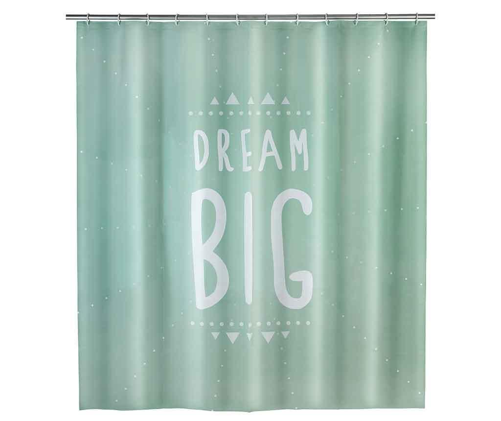 Perdea de dus Dream Big 180x200 cm