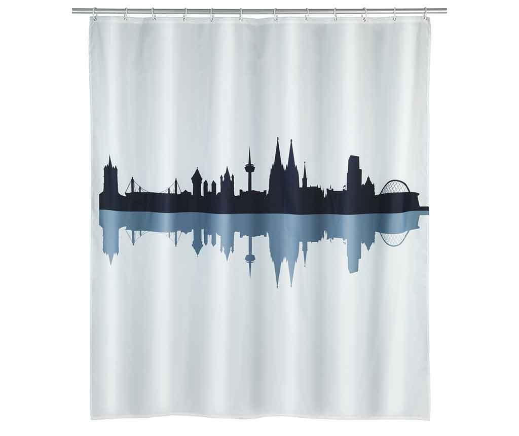 Zavesa za prho Koln 180x200 cm