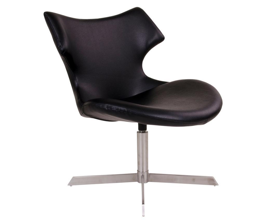 Scaun rotativ Zambi Black