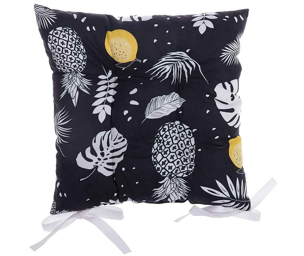 Sedežna blazina Night Tropical Fruits 37x37 cm