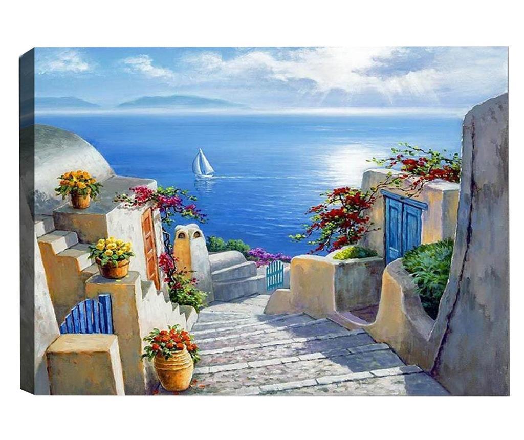 Greek Paradise Kép 50x70  cm